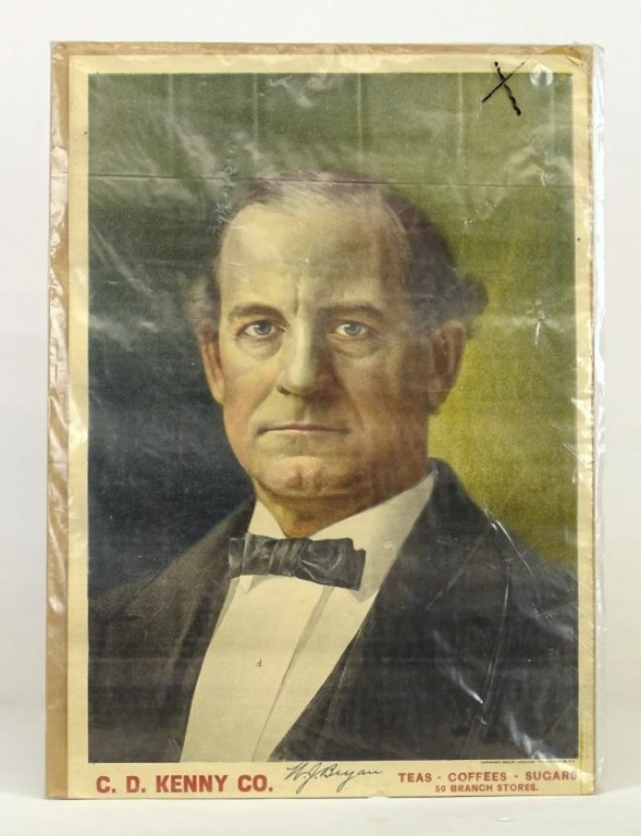 William Jennings Bryant Political Poster
