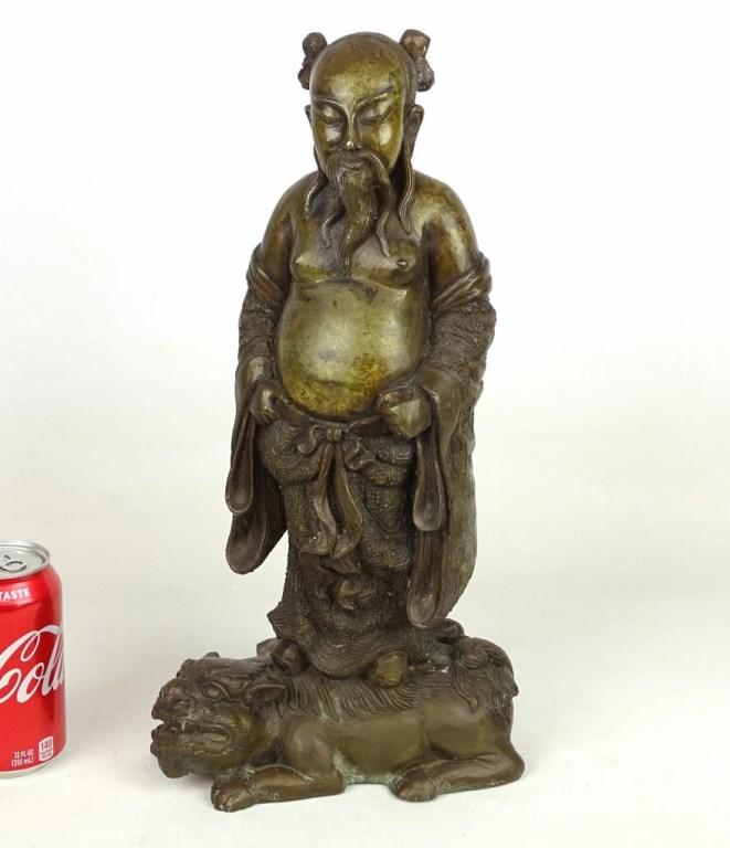 Bronze Chinese Statue