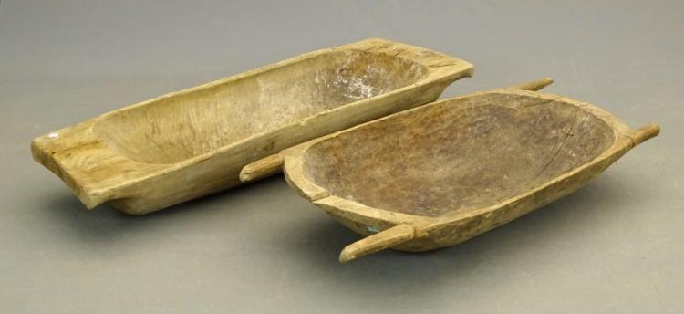 19th c. Primitive Bowls