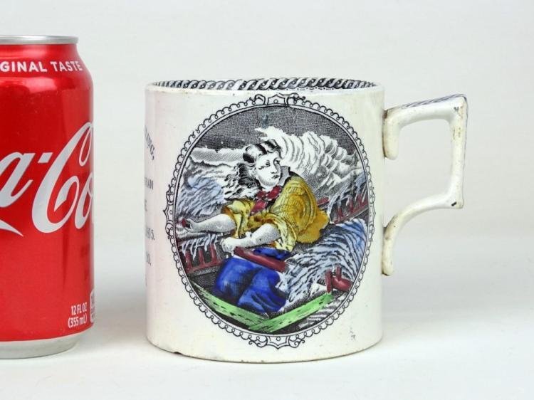 19th c. Northumbrian Mug