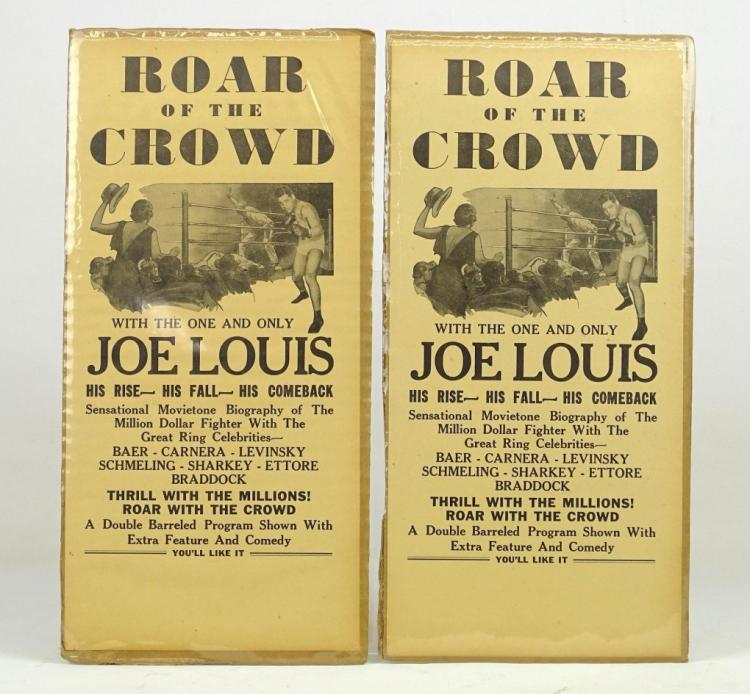 Joe Louis Broadsides