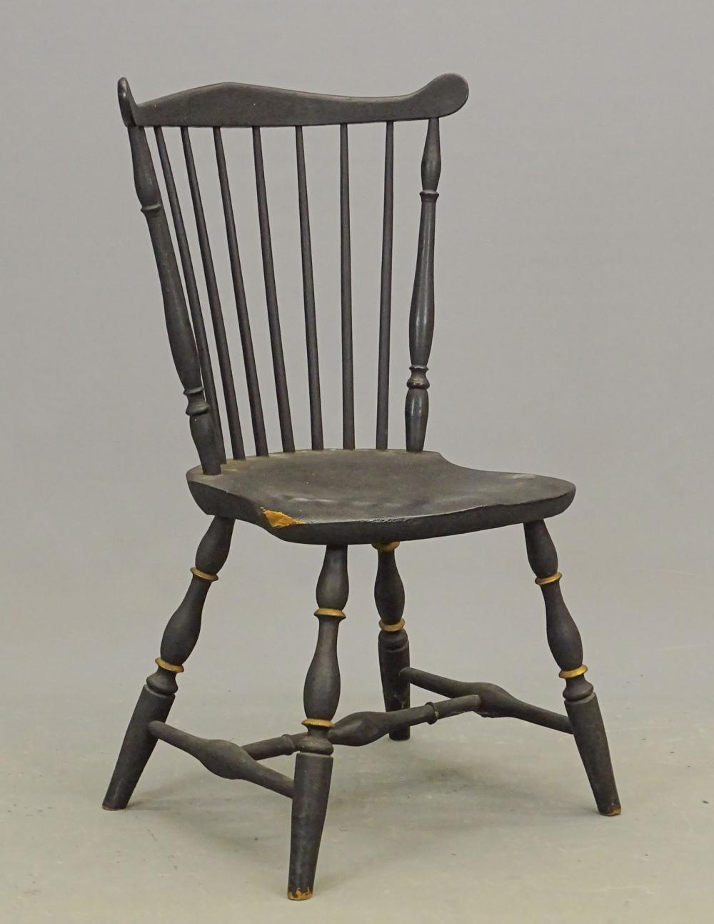 19th c. Fanback Windsor Chair