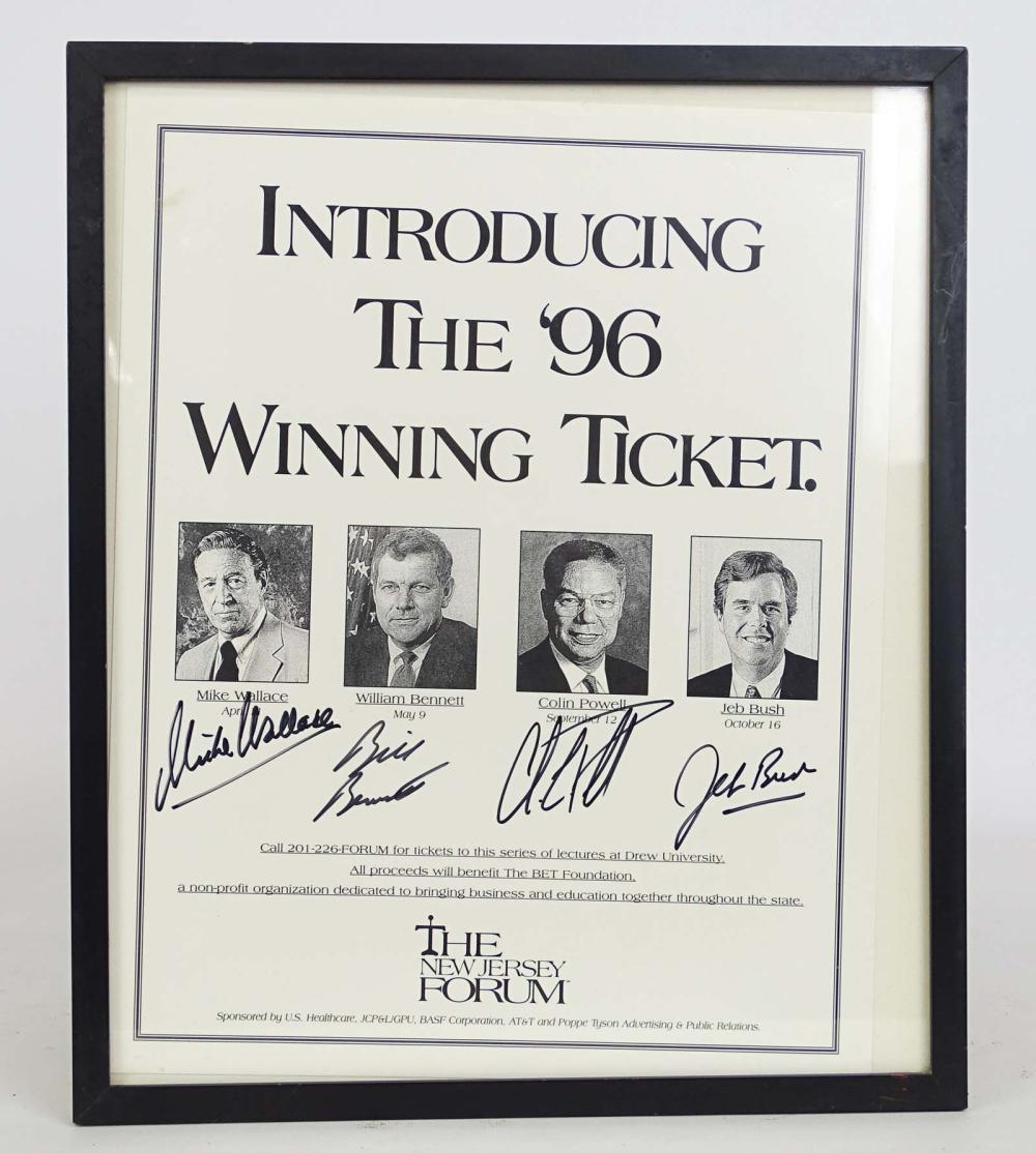 Autographed Poster