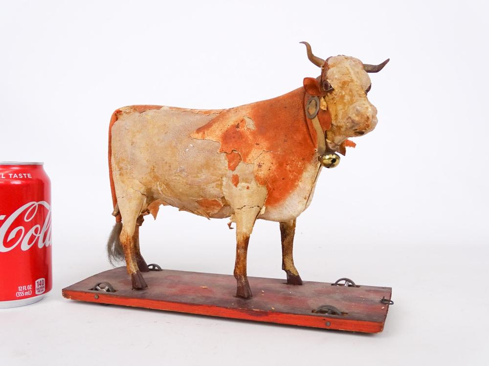 Cow Pull Toy