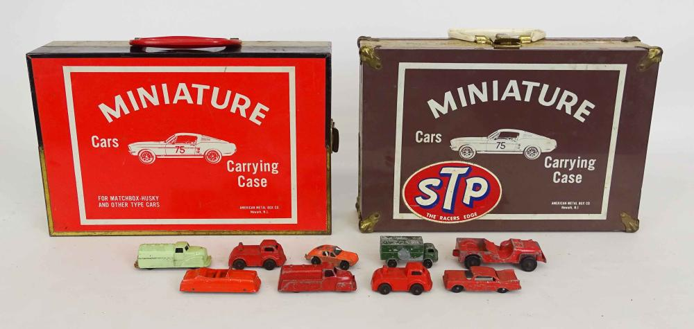 Matchbox Cars & Carrying Cases