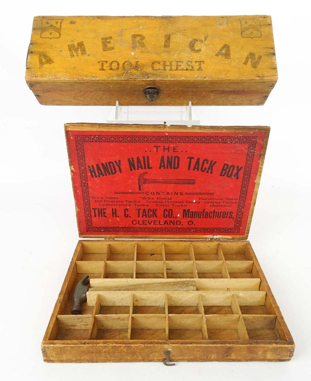 Early Tool Boxes