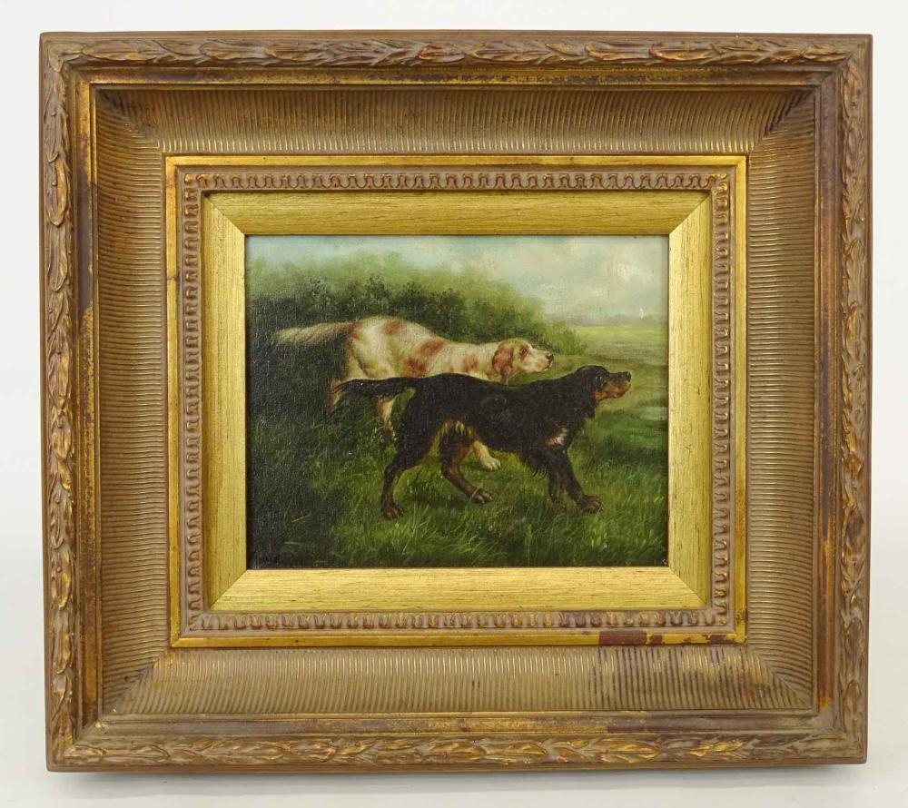 Painting, Hunting Dogs
