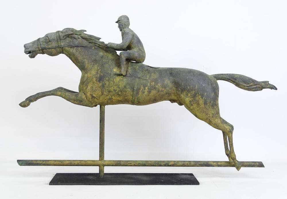 Horse & Jockey Weathervane