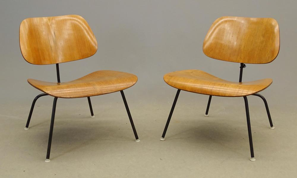 Pair Eames For Herman Miller Chairs