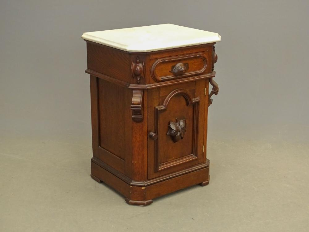 19th c. Victorian Marble Top Stand
