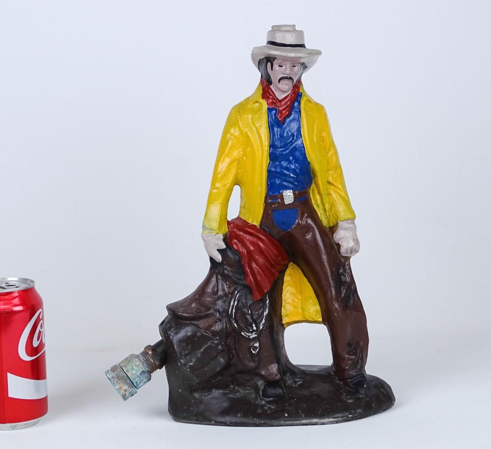 Vintage Cowboy Sprinkler