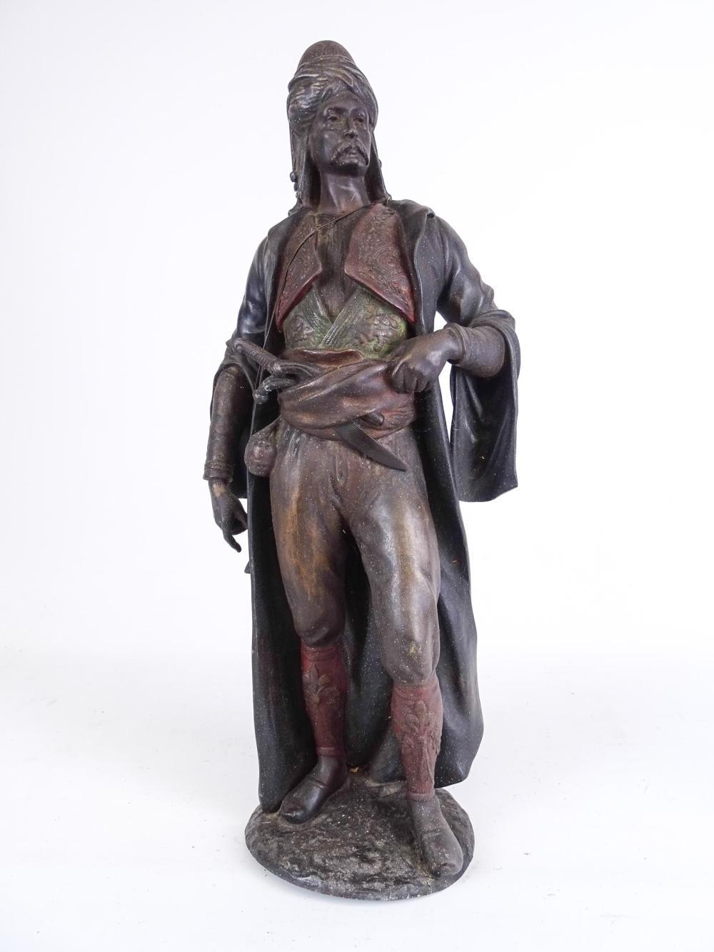 19th c. Cast Iron Figure
