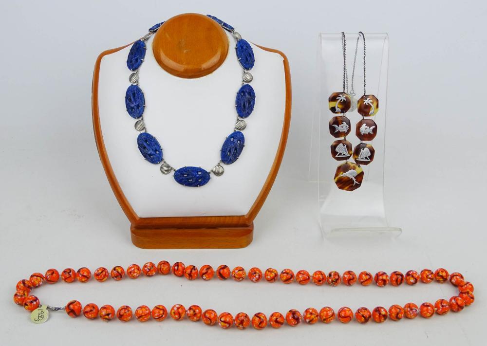 Vintage Jewelry, 3 Necklaces