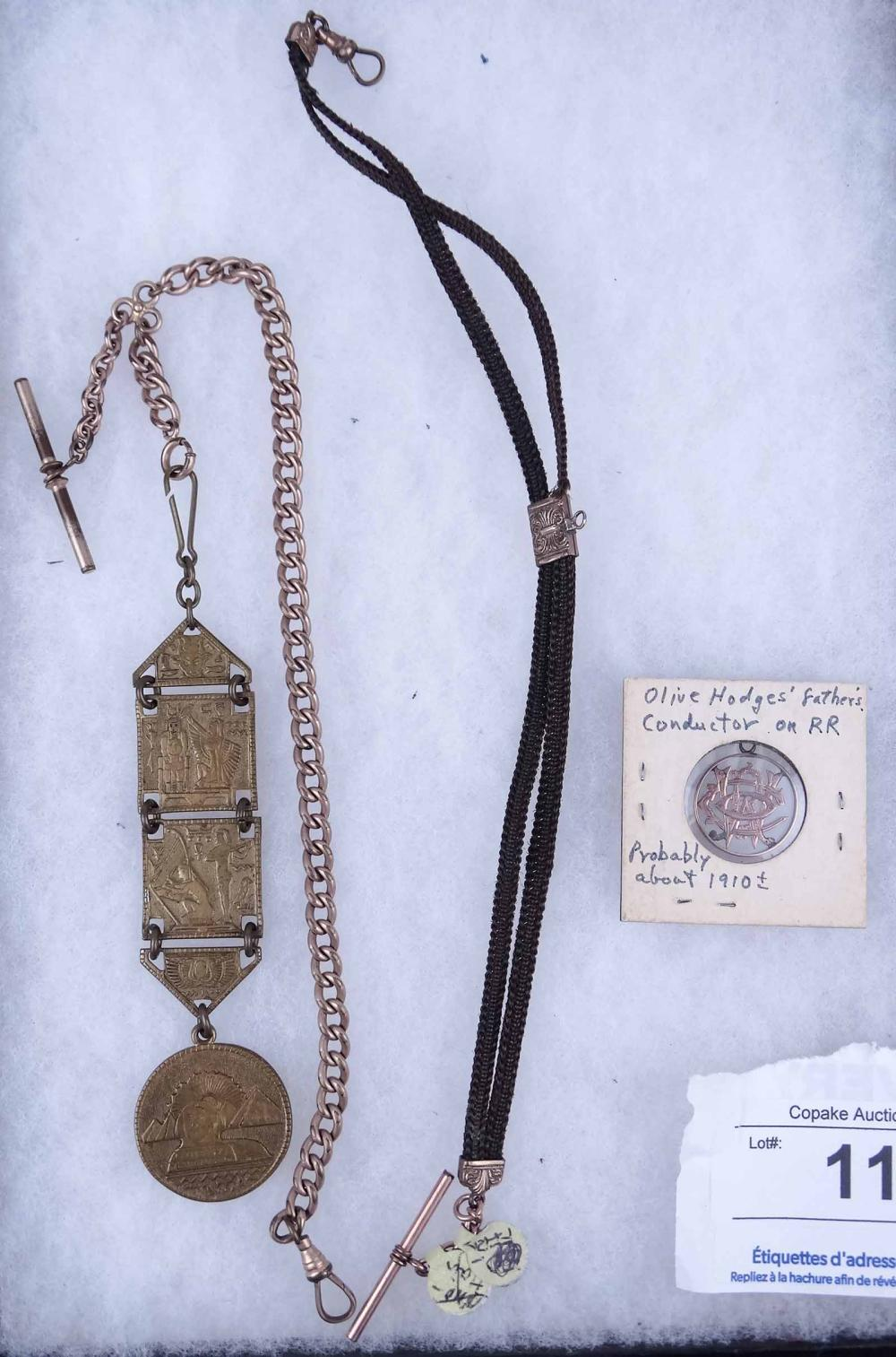 Watch Chains & Fobs c. 1880-1910