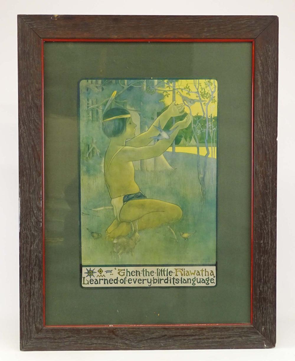 Arts & Crafts Period Framed Print