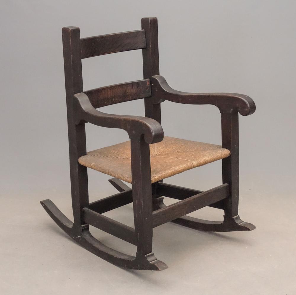 Joseph McHugh Arts & Crafts Rocking Chair