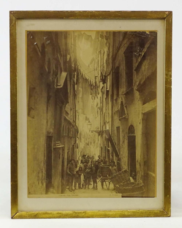 Vintage Italian Photograph