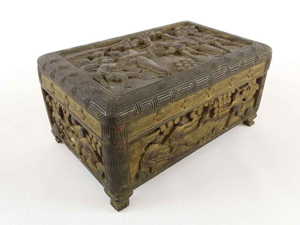 Chinese Carved Box