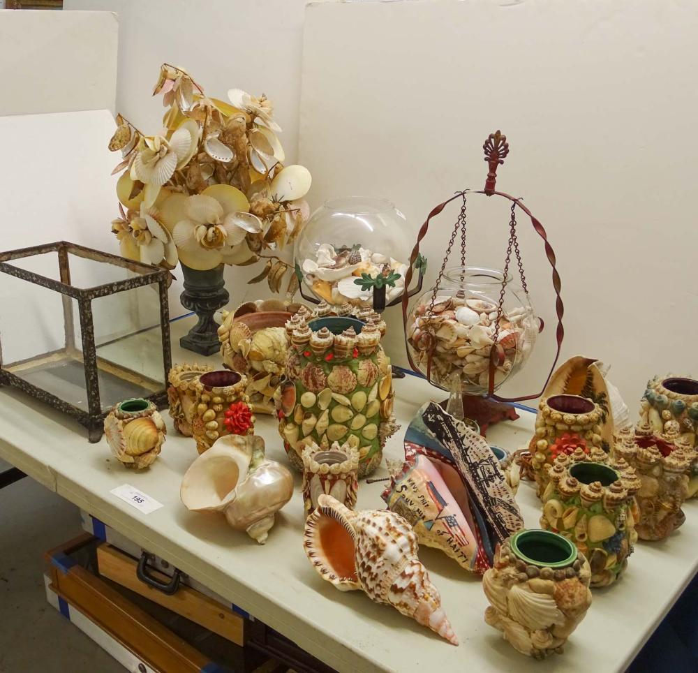 Seashell Art Lot