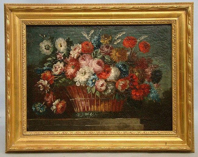 Painting Attr. To Jean Baptiste Monnoyer