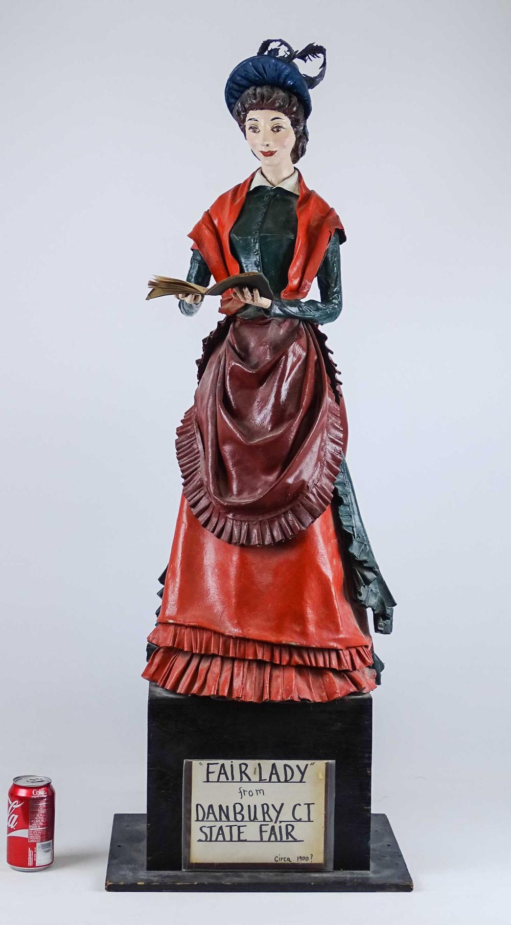 Victorian Papier Mache Figure