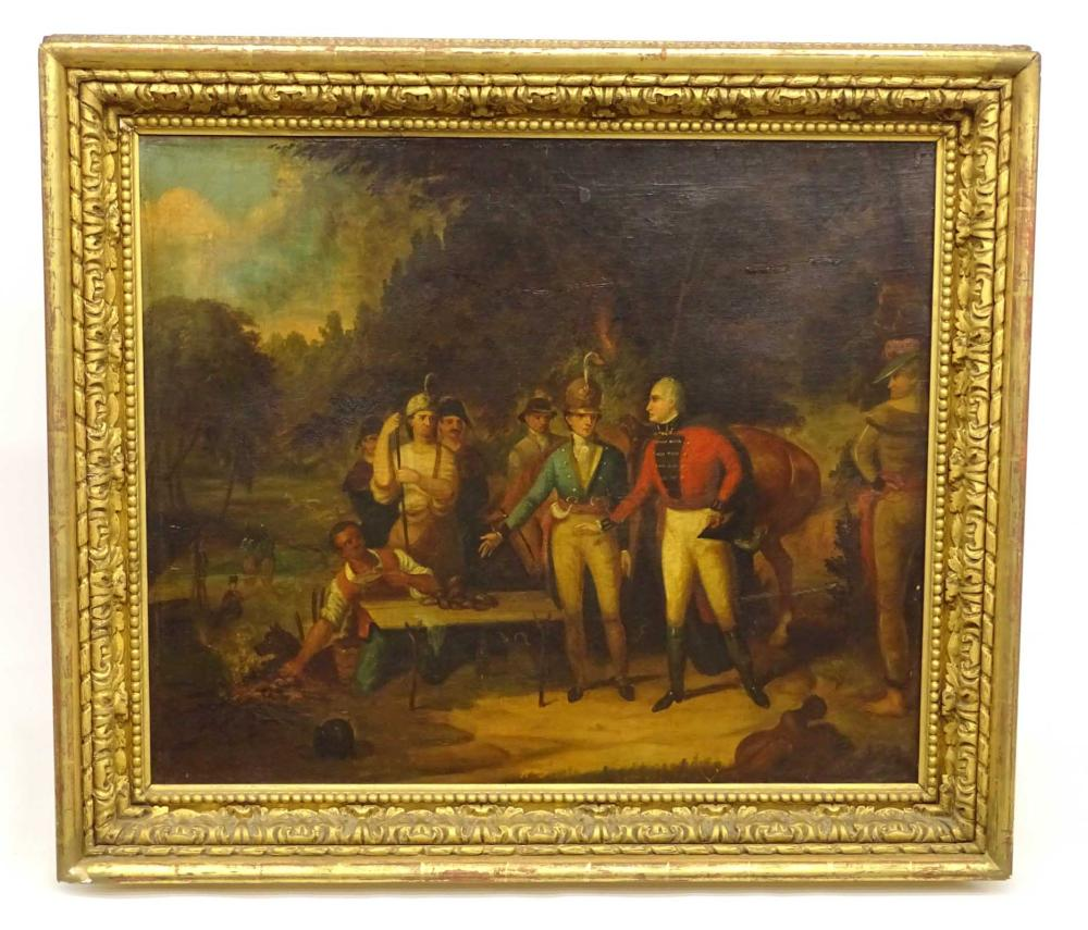 19th c. Historical Painting