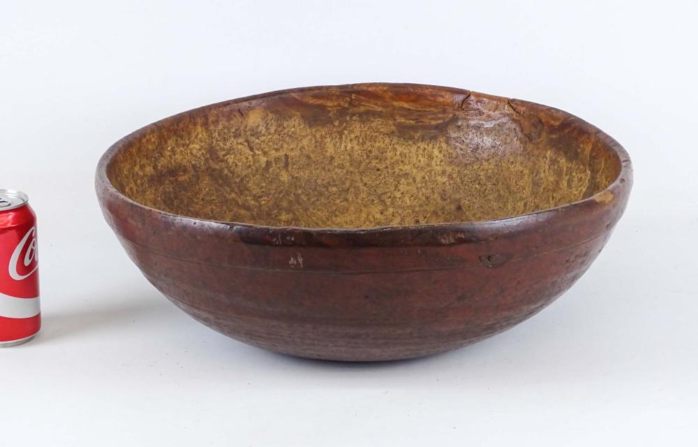 18th c. Burl Bowl