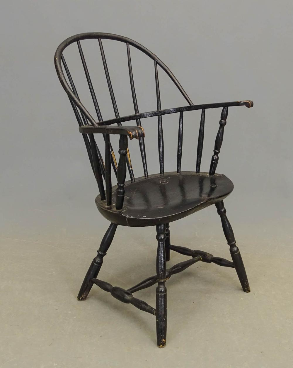 18th c. New England Windsor Chair
