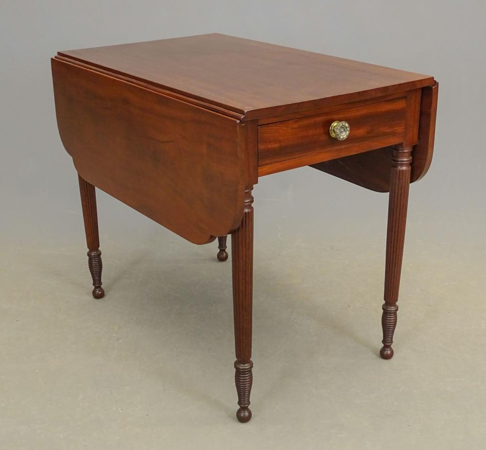 19th c. New York Federal Pembroke Table