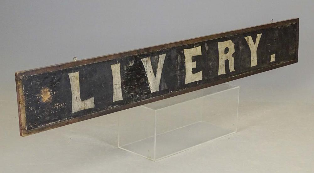 19th c. Livery Trade Sign