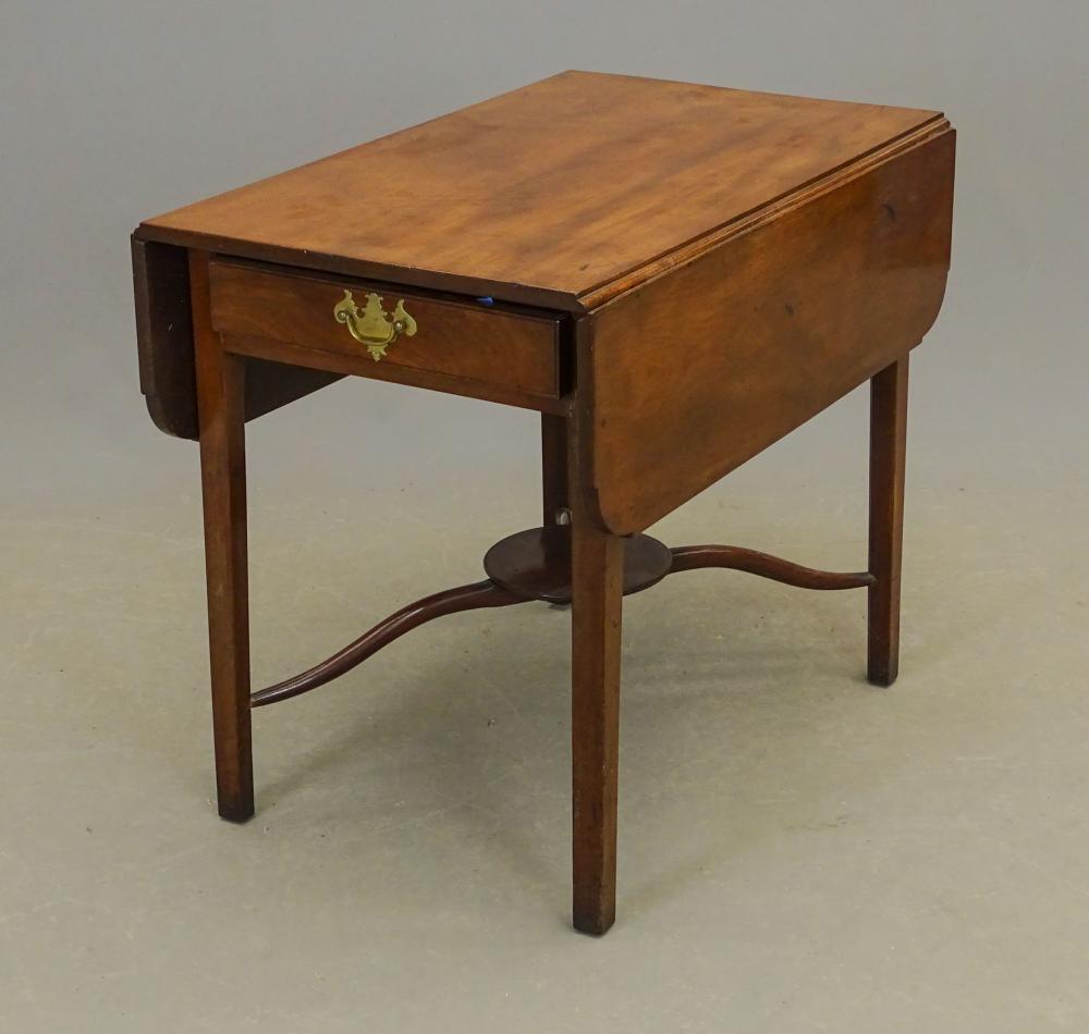 18th c. Chippendale Mahogany Pembroke Table