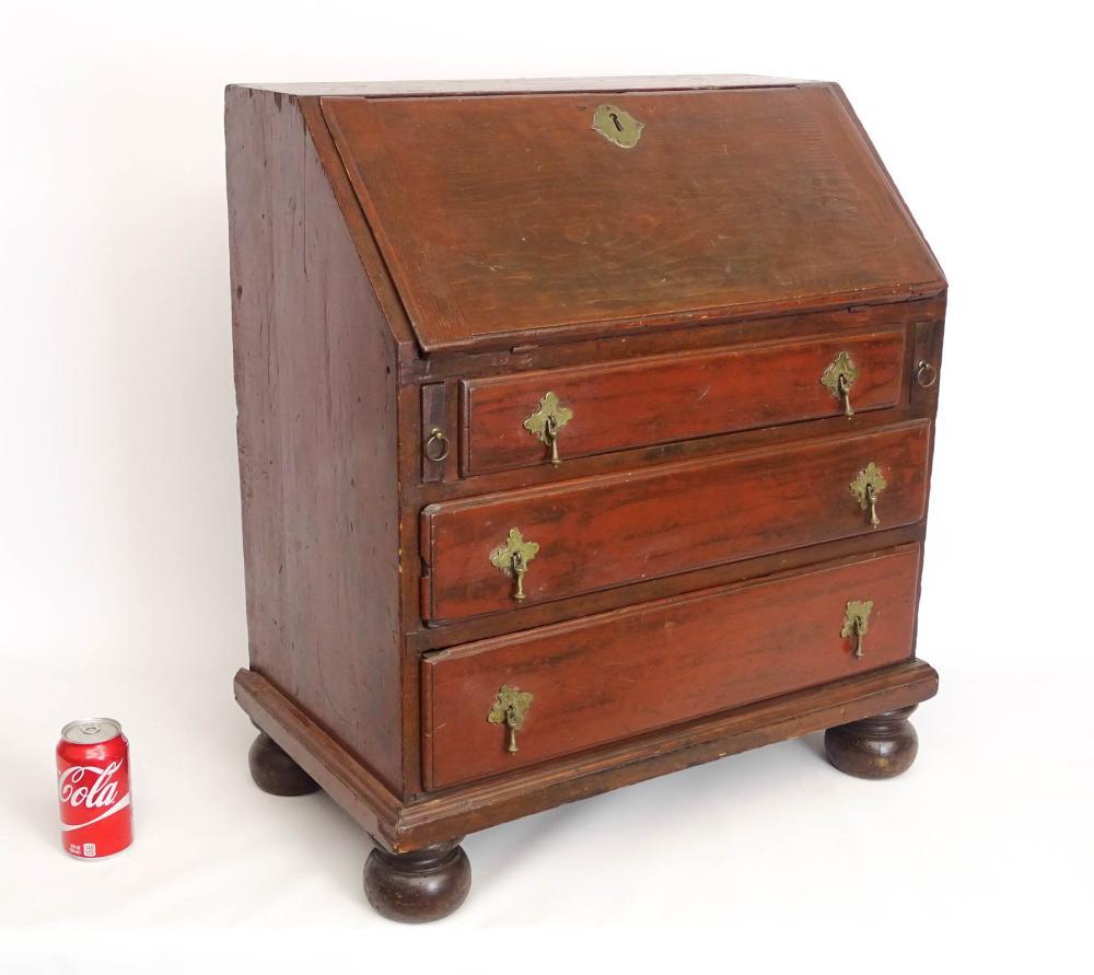 18th c. Child's Slant Lid Desk