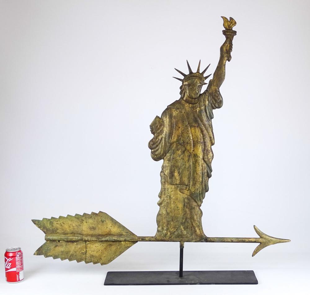 Statue Of Liberty Weathervane