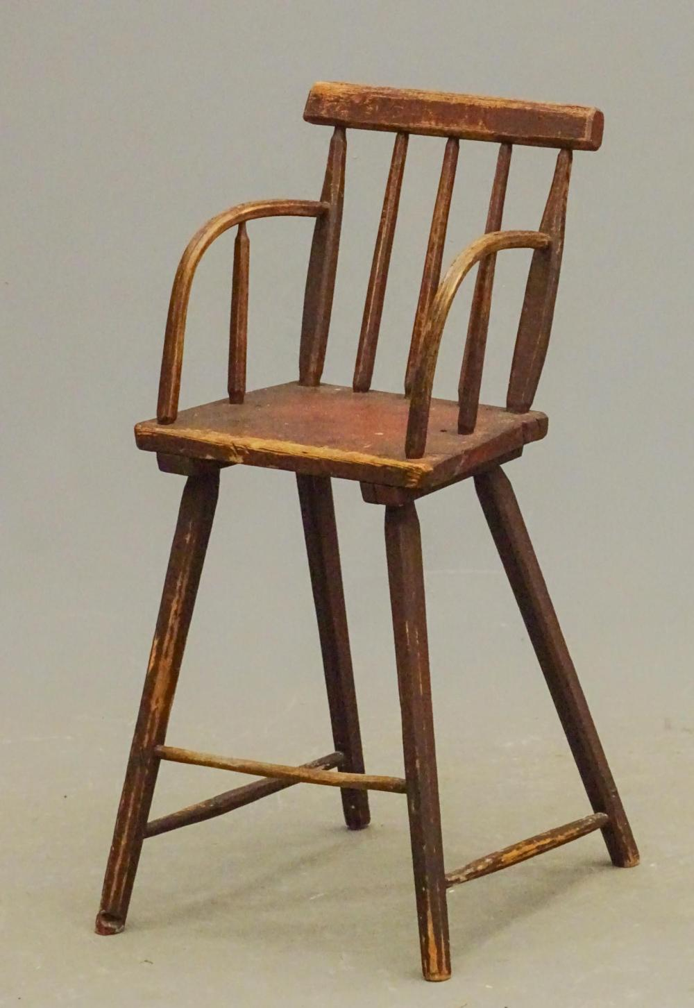 18th c. Highchair