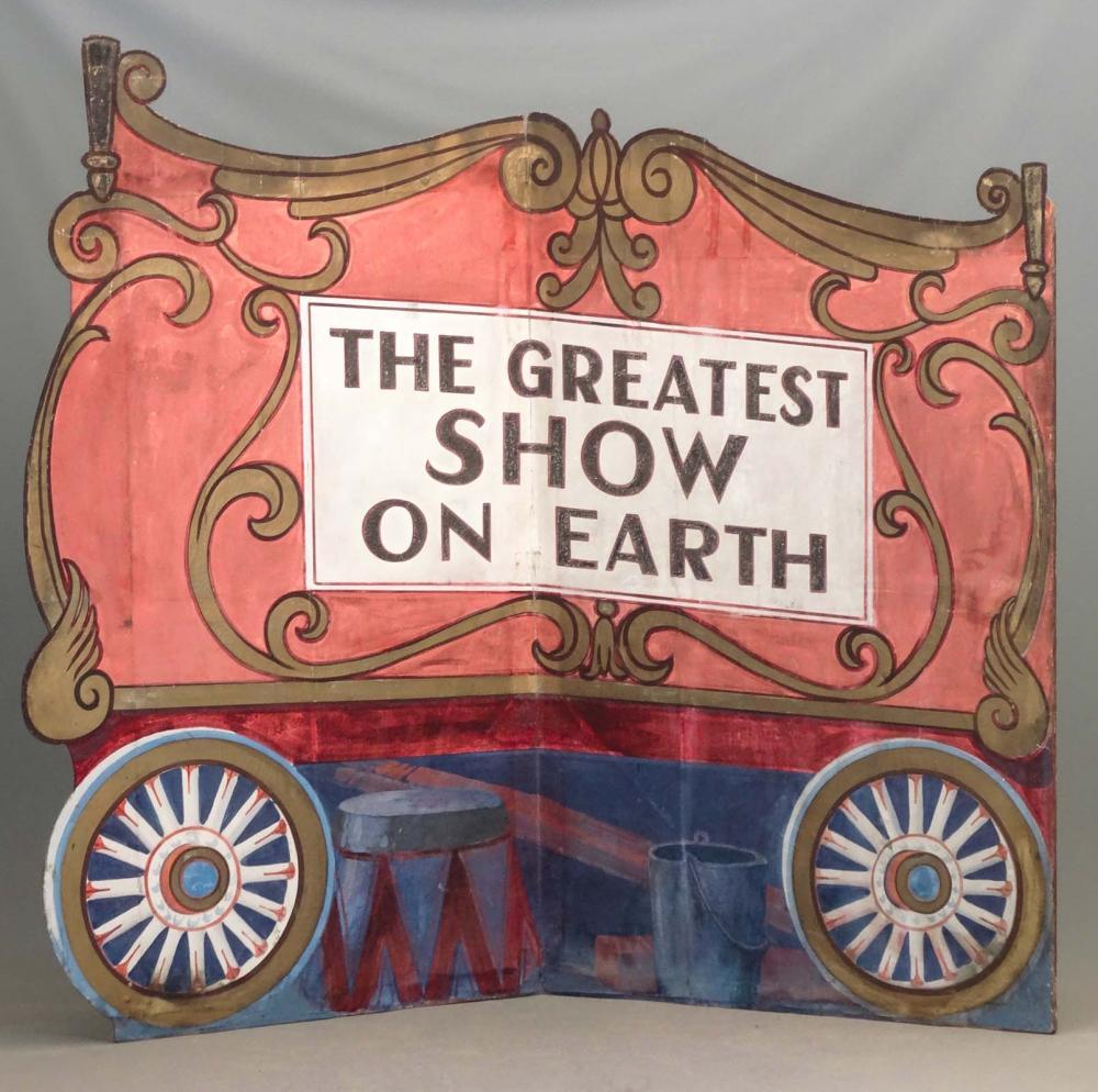 Large Circus Banner
