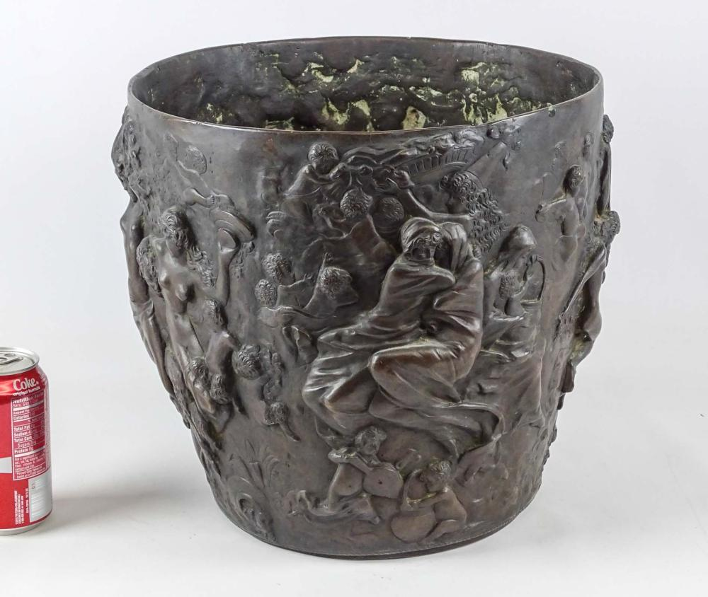 19th c. Bronze Bowl
