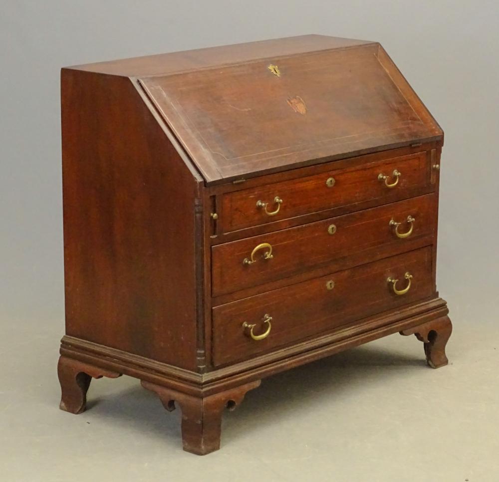 18th c. Chippendale Slant Lid Desk