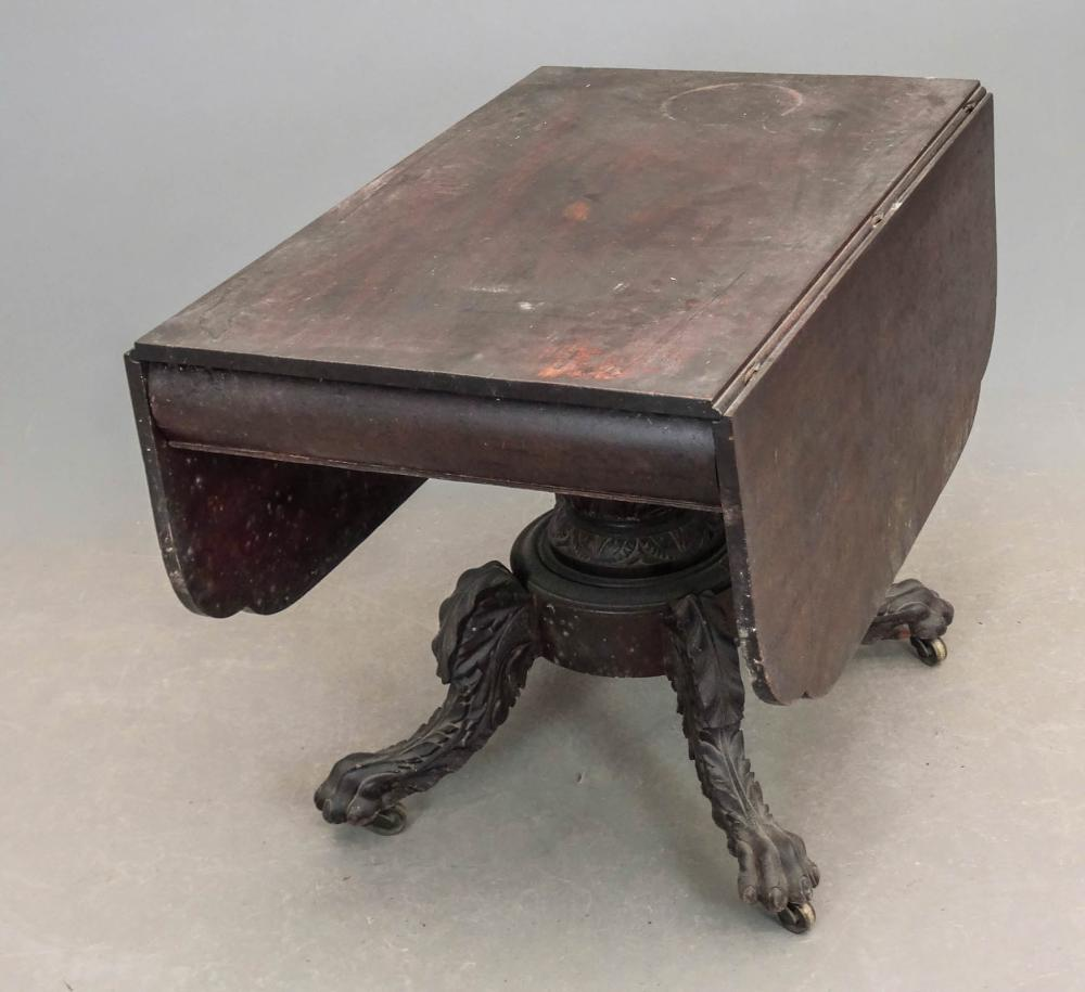 19th c. Southern Empire Dropleaf Table