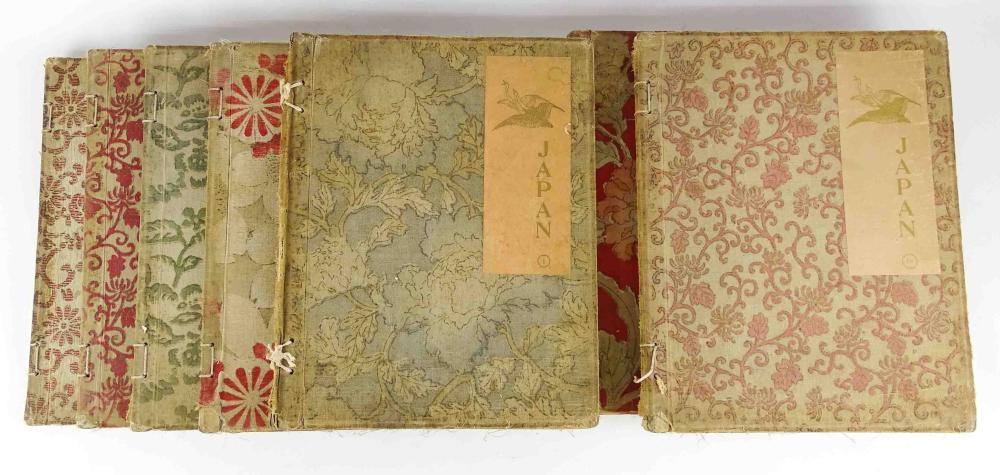 "Set (10) Books: ""JAPAN"" (Yedo Edition)"