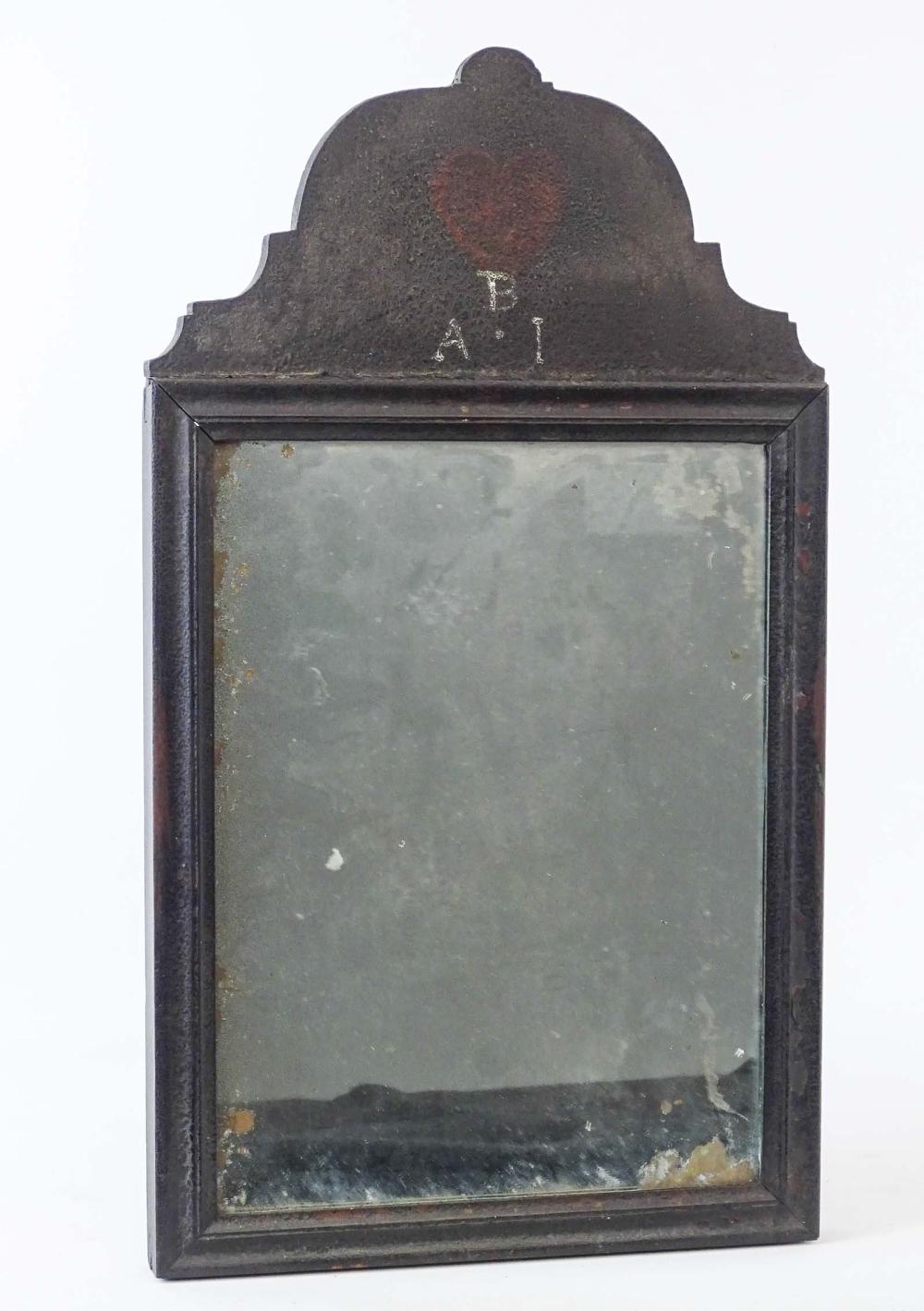 18th c. Queen Anne Mirror