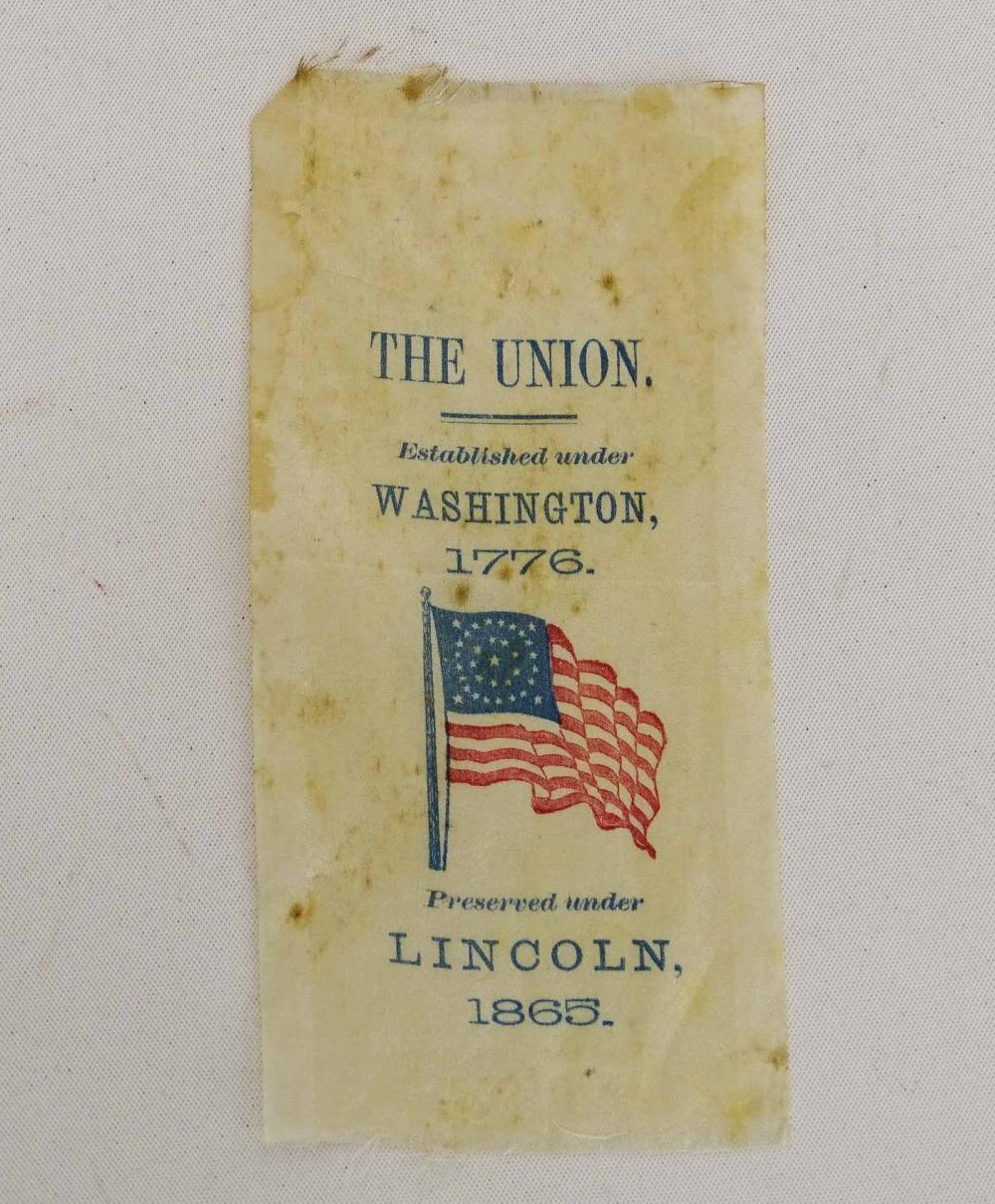 Rare Lincoln Ribbon