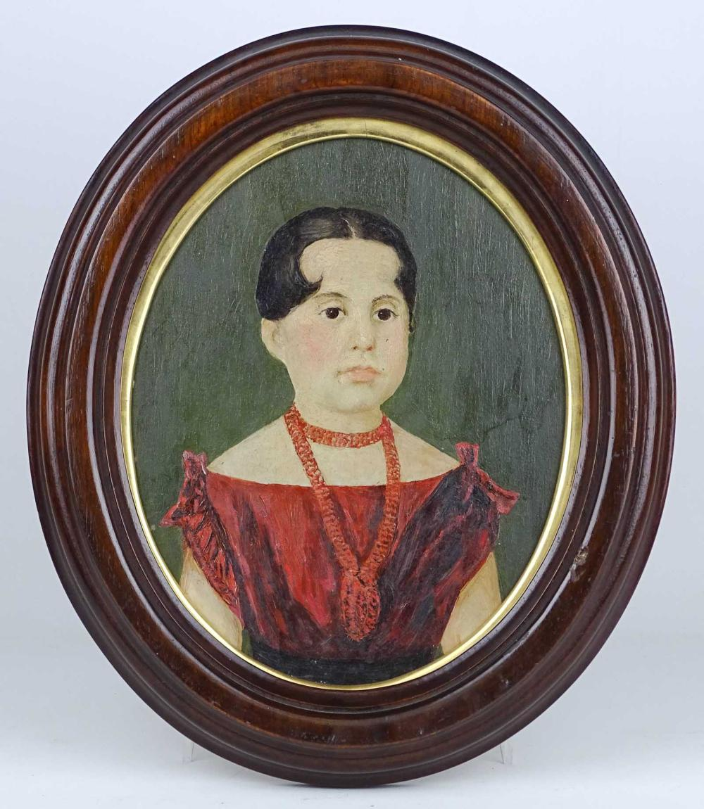 Prior Hamblin School, Portrait Of A Little Girl