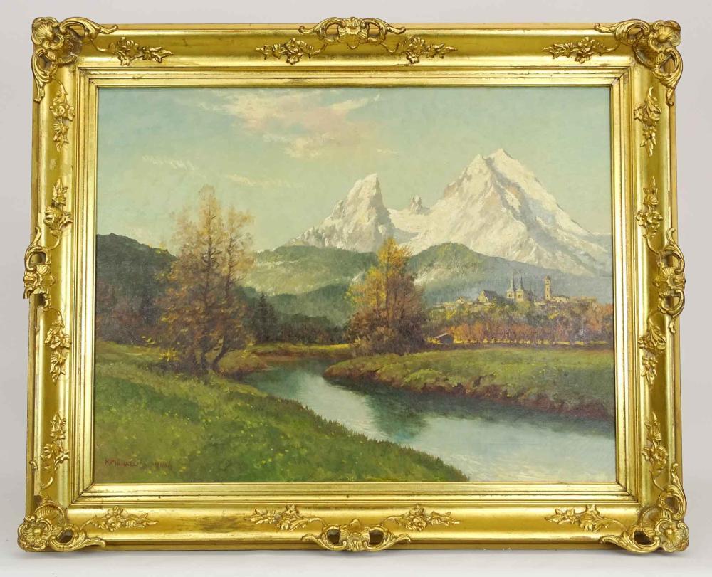 Heinrich Michaelis (German 1837-1898)
