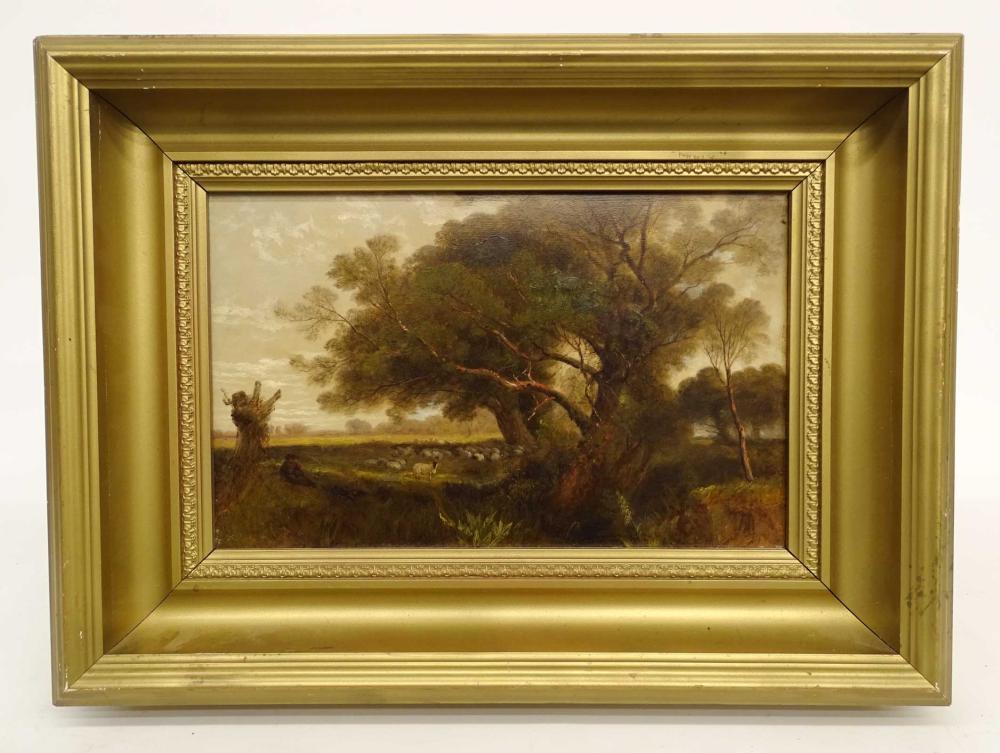 19th c. British School, Pastoral Landscape