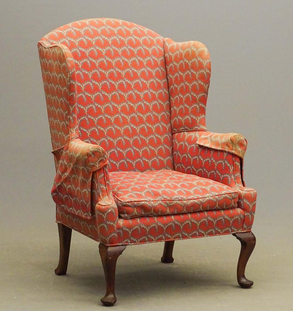 18th c. Wing Chair