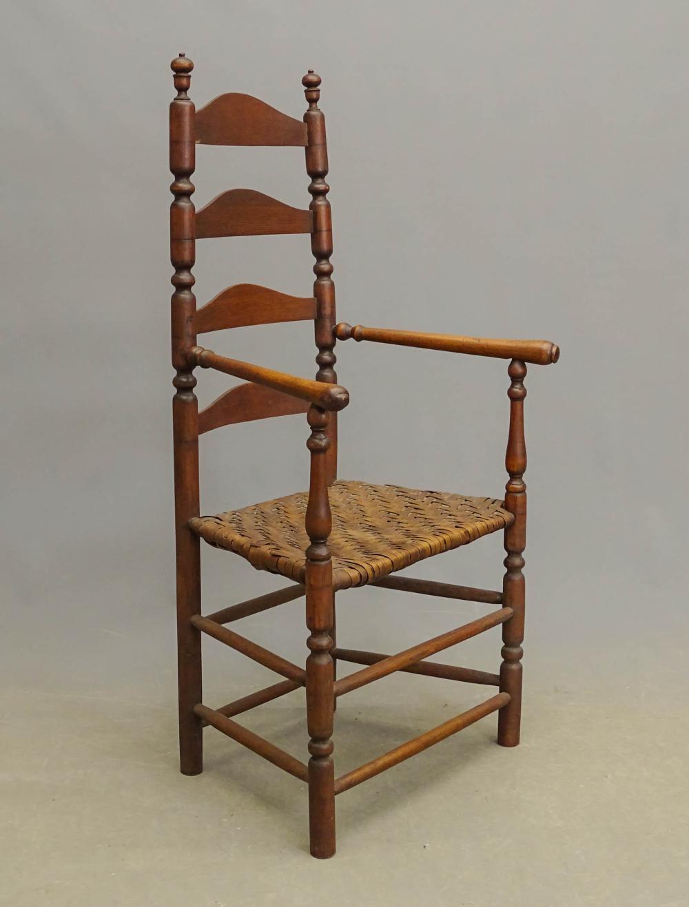 18th c. Ladderback Chair