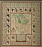 Richard E. Bishop (1887)  Map of Diving Ducks