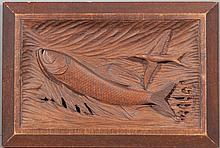 Tarpon Relief Carving