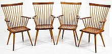 Set of 4 Thomas Moser Eastward Chairs