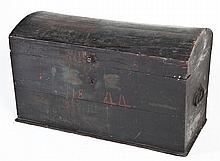 1844 Dome Top Painted Chest